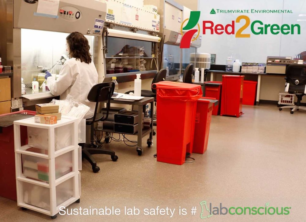 New England Biolabs knows that recycling biohazard waste is safe, sustainable and smart.