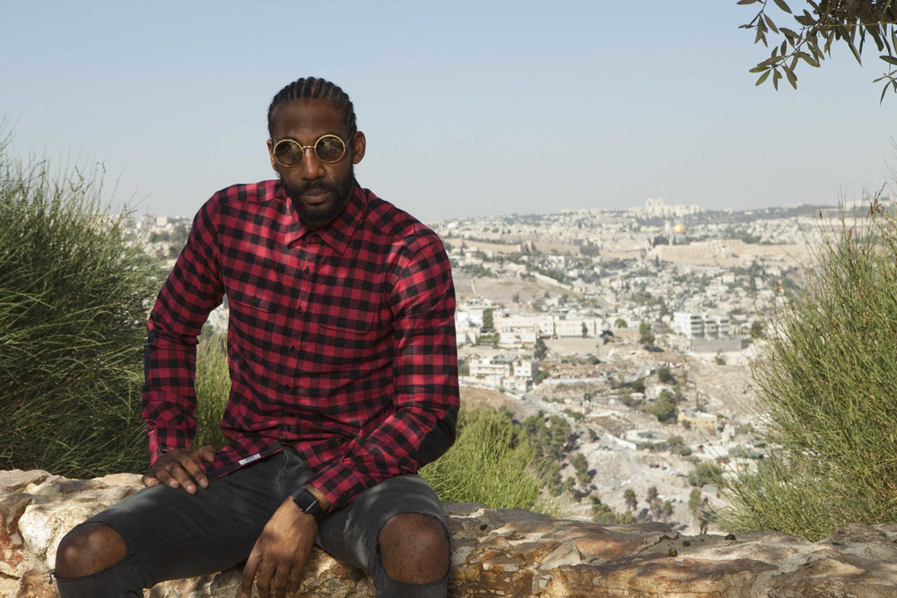 Amar'e Stoudemire in Israel