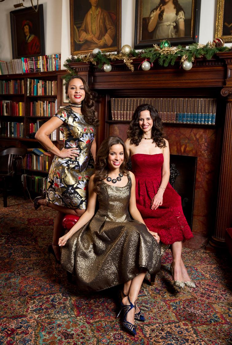 Hamilton's Schuyler Sisters: Mandy Gonzalez, Jasmine Cephas Jones, Lexi Lawson