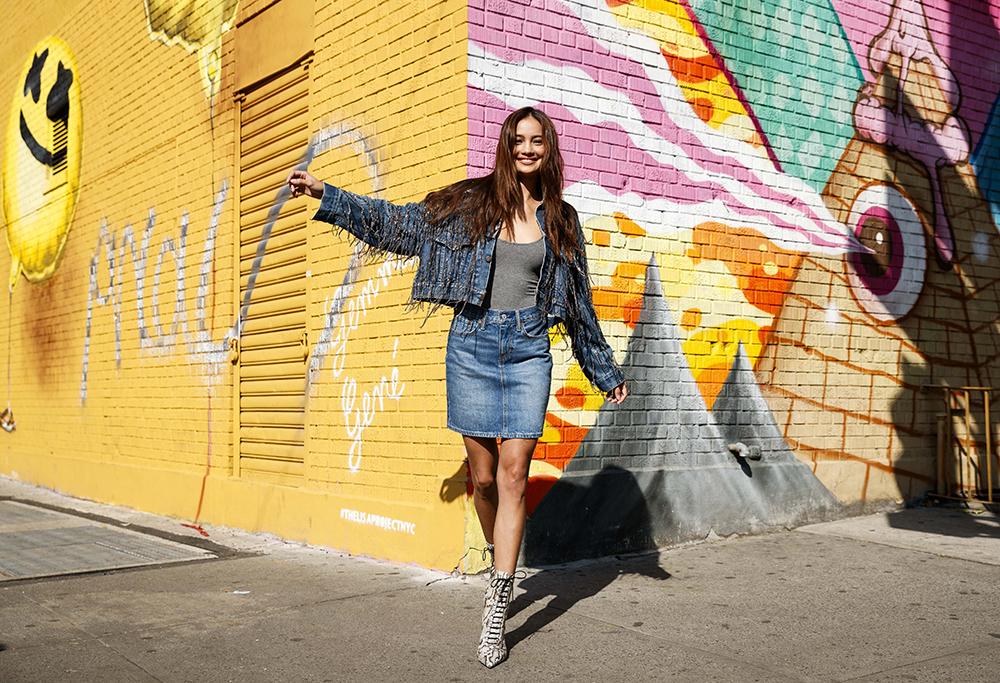 Model Kelsey Merritt