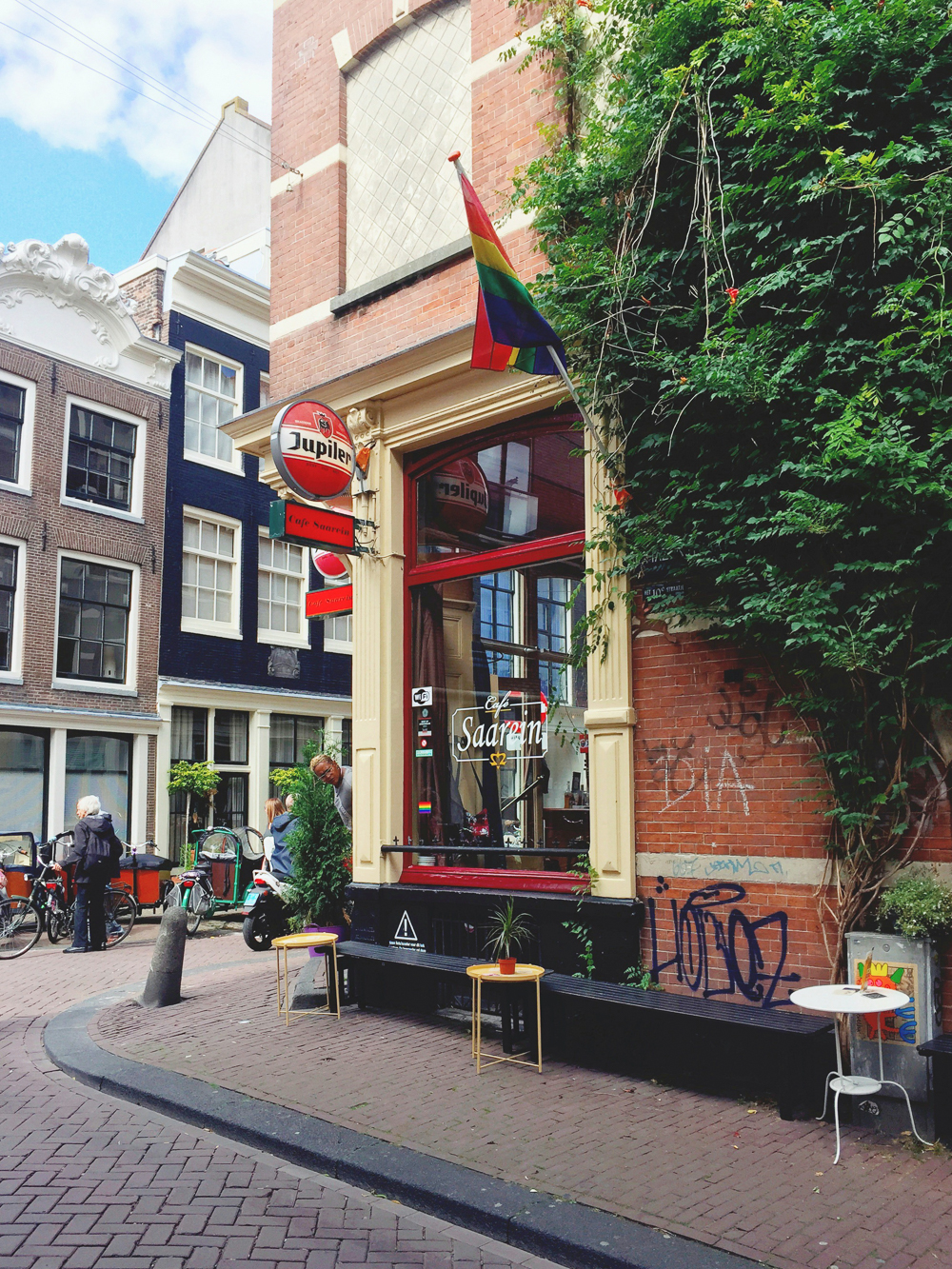 Café Saarein, Amsterdam, Netherlands