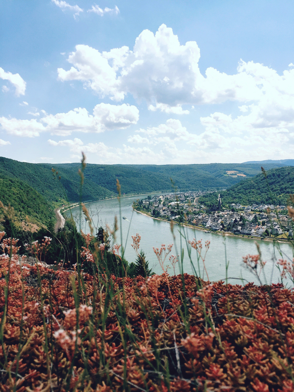Rheinland-Pfalz and the romantic Rhine River, Germany