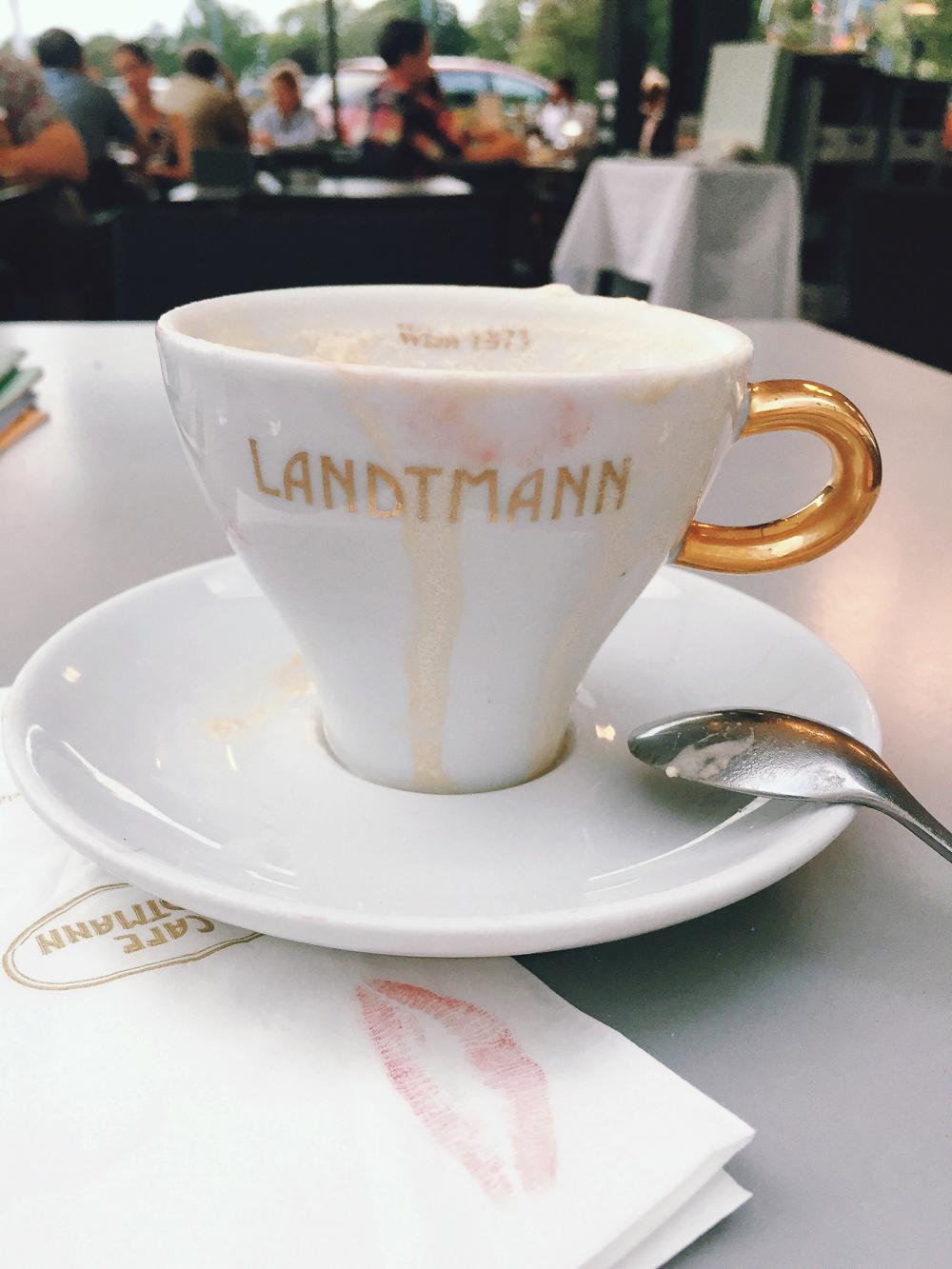 Café Landtmann, Vienna, Austria