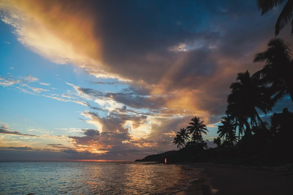 Sunset, Fiji