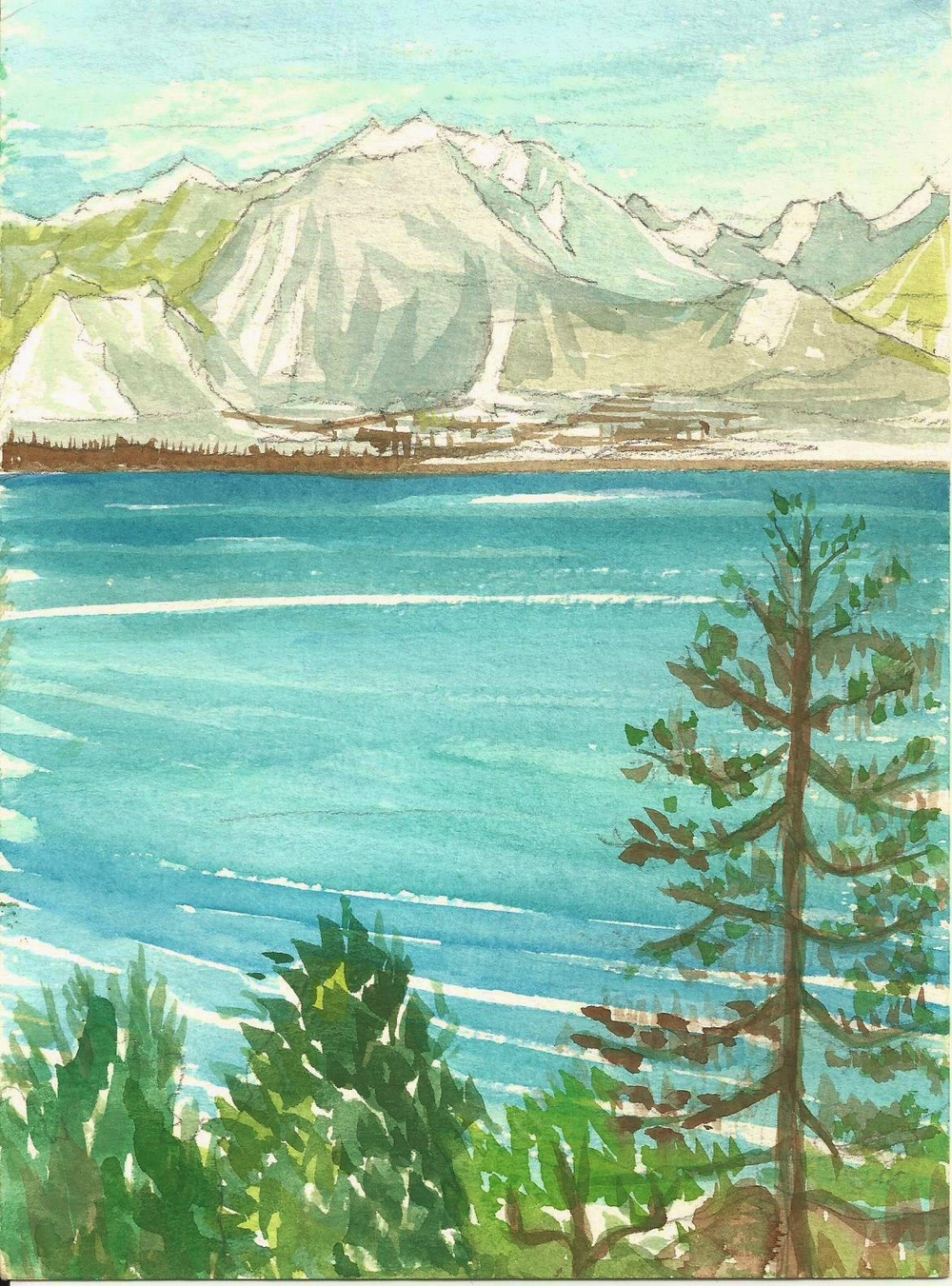 poem book Divonne to Alps watercolor.jpg