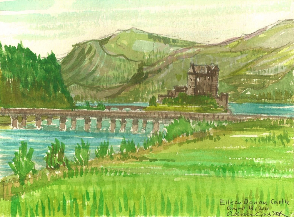 Poem Book Eilean Donan Castle Watercolor.jpg