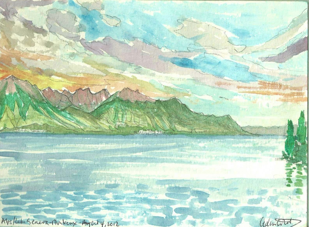 Poem book View from Territet Lake Leman watercolor.jpg
