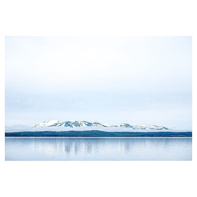 Yellowstone Lake, last week. . #YellowstoneNationalPark #FujifilmX_US #Fujifeed #natgeoyourshot