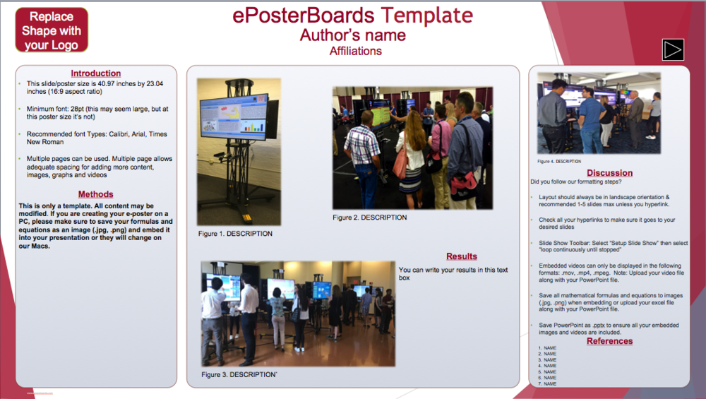 Multiple Slide Template - Click Image to Download Template