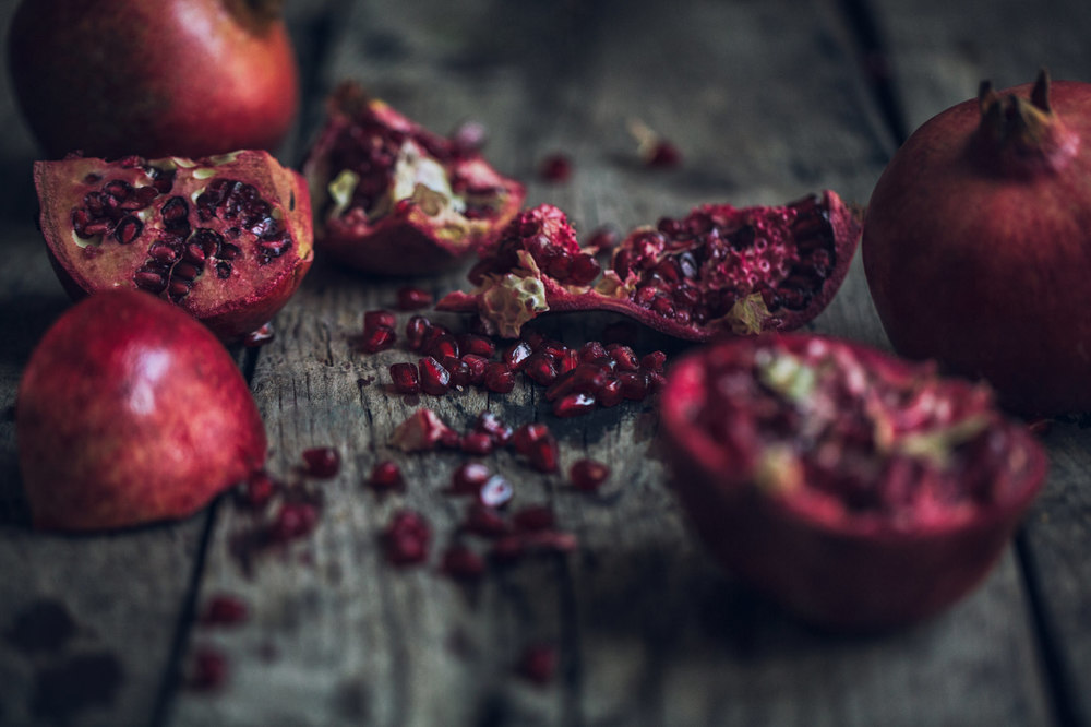 Pomegranate & Spiced Woods