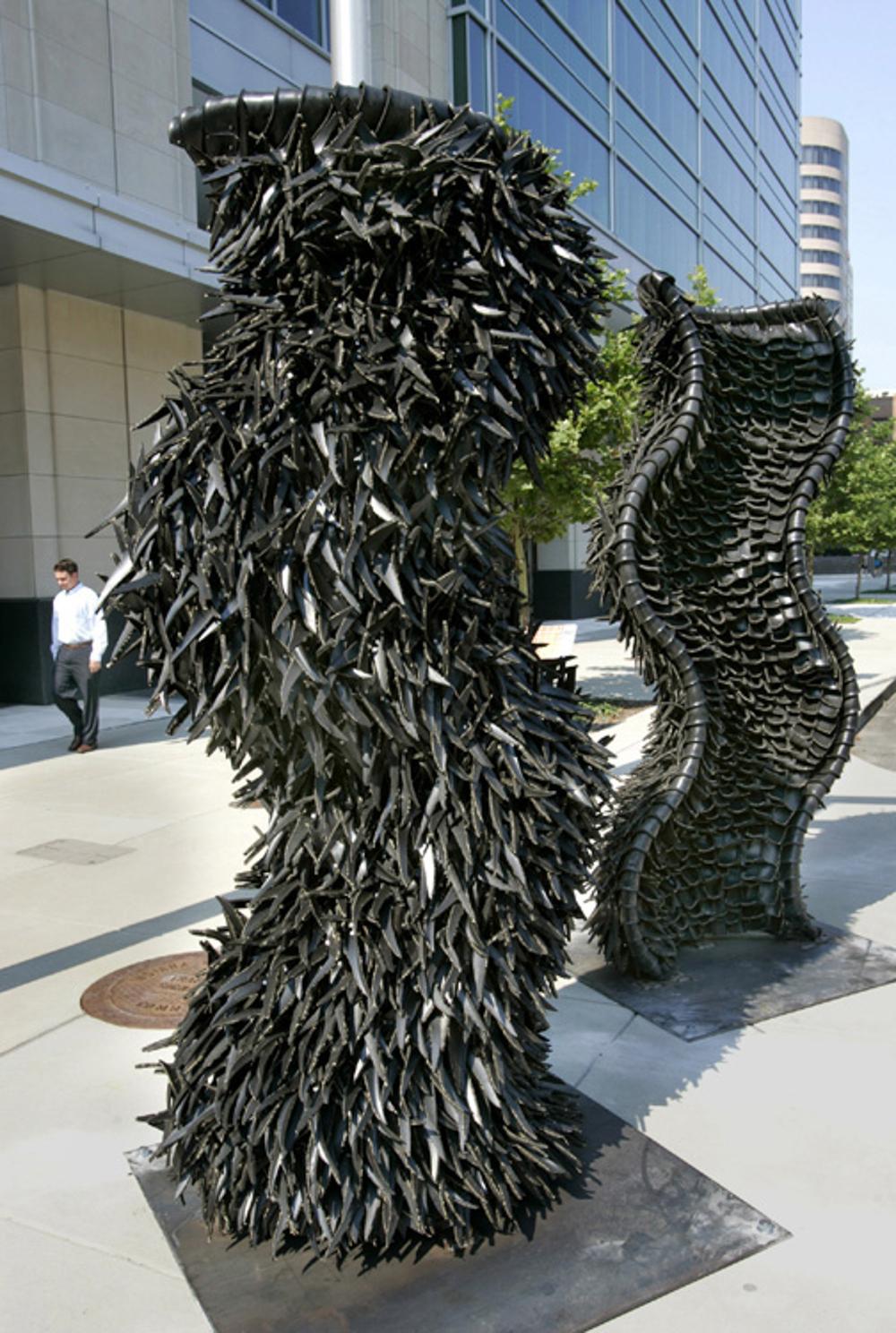 Booker, Gridlock , 2008, each piece 108x60x60in (1).jpg