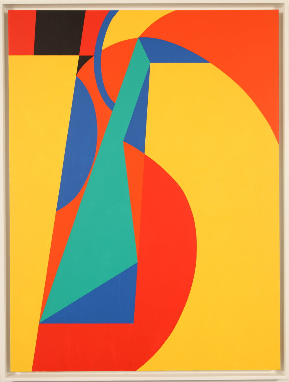 Untitled (for Seurat)  , 1983  Acrylic on canvas 60H x 45W inches unframed