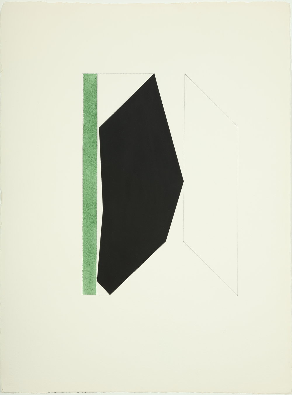 Big Bear , 1977 - 1978     Acrylic and pencil on paper 30.25H x 22.625W inches unframed $5,000 unframed $5,484 framed