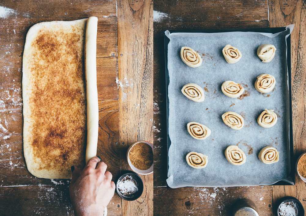 Making cinnamon rolls couldn't be easier.