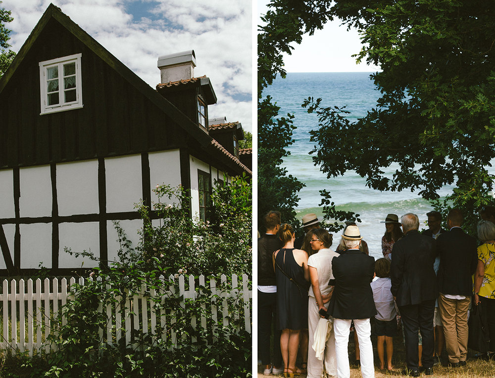 Old houses, roses, a wild moor with an outdoor chapel that's popular to be wed by, is all part of Knäbäckshusens special charm.