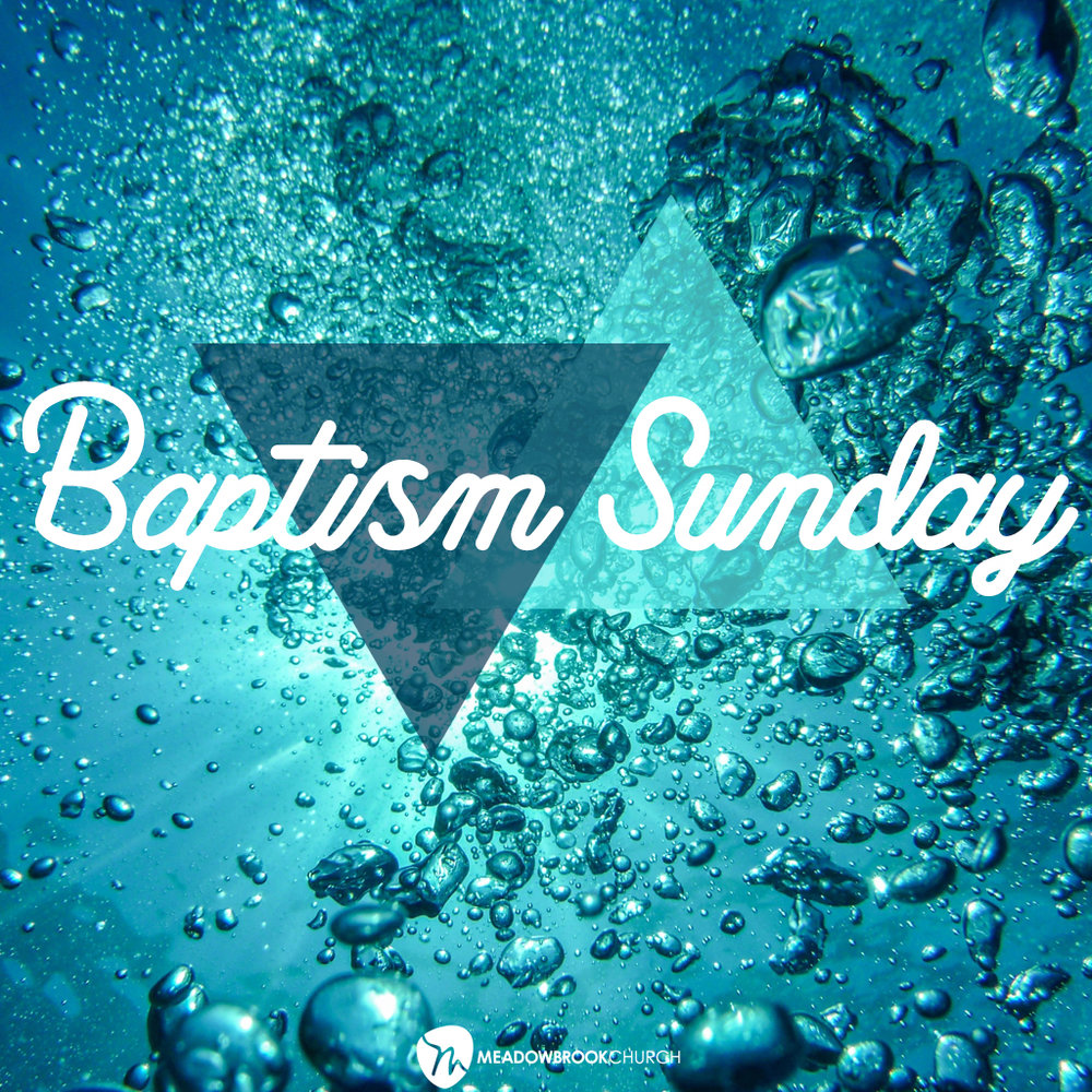 June 24, 2018   A celebration of the reality within. Join us as we celebrate--through baptism--God's work in people's lives.
