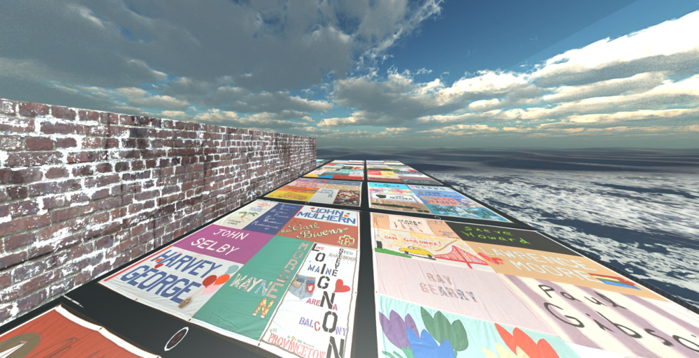 AIDSMemorial   Quilt VR -