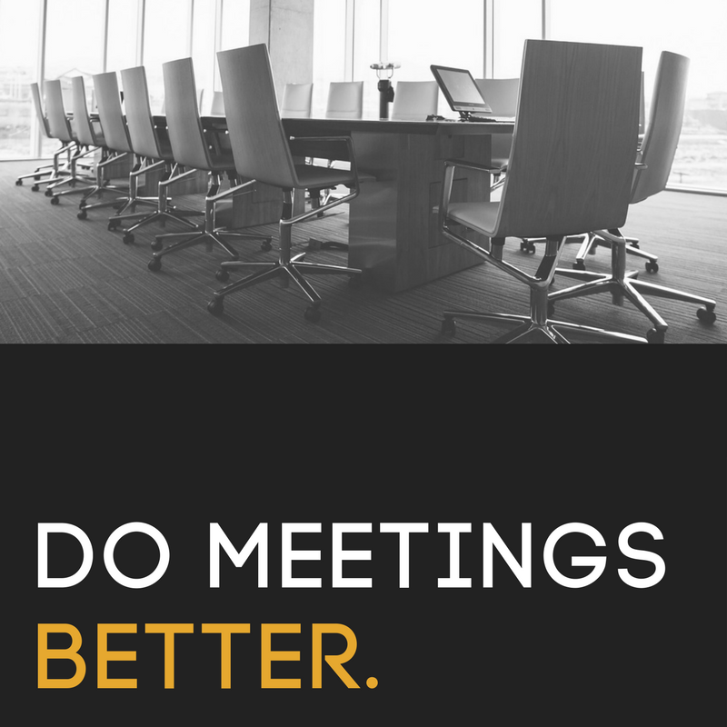 Meeting Template - Maximize every moment of your next meeting...