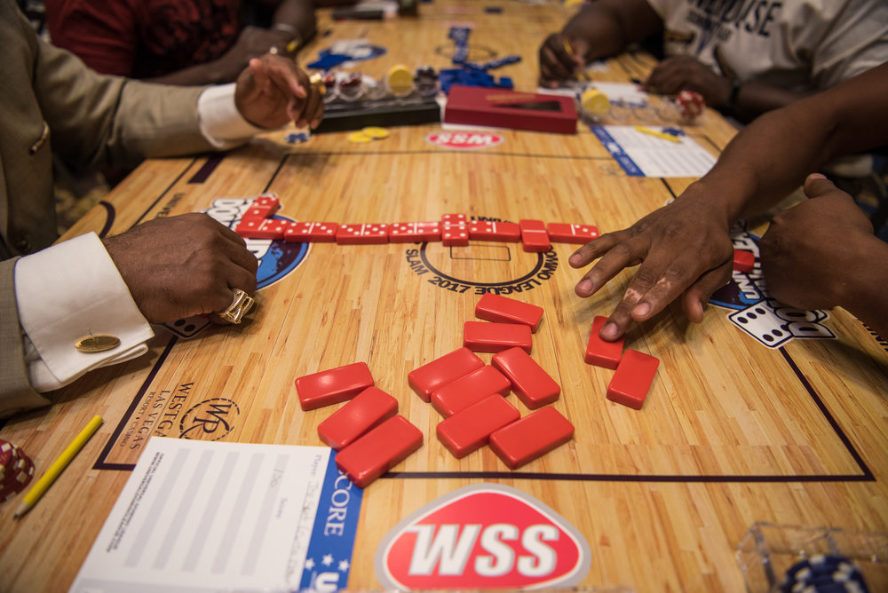 The Summer Slam Domino Tournament hosted by the The Universal Domino League has $50,000 in cash prizes at Westgate hotel-casino on Saturday, July 8, 2017, in Las Vegas. Morgan Lieberman Las Vegas Review-Journal
