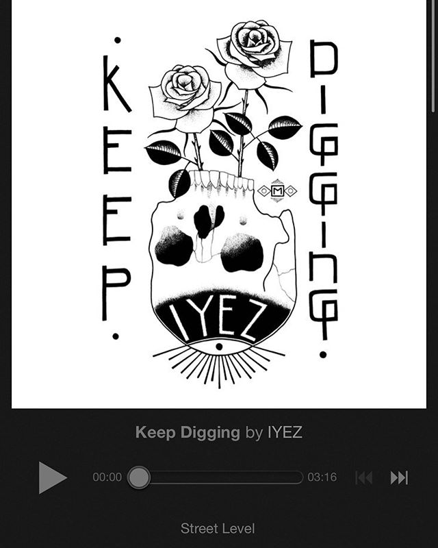 """Keep Digging"" now up on all platforms !!!"