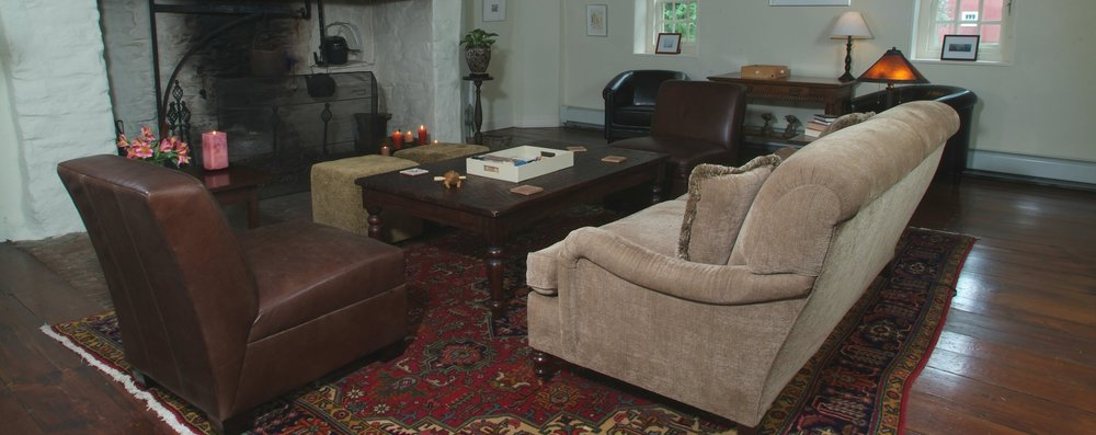 Great Room with Comfortable Down filled Sofas and Chairs
