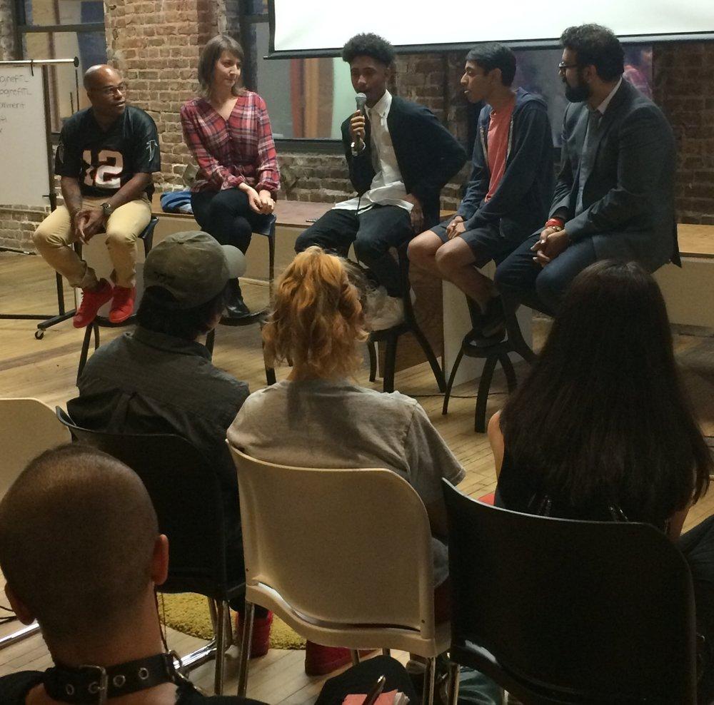 Civic Innovation Fellow re:imagine/ATL hosting a teen talk night