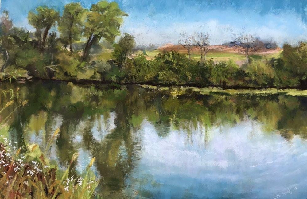 Pastel, Tercha's Pond