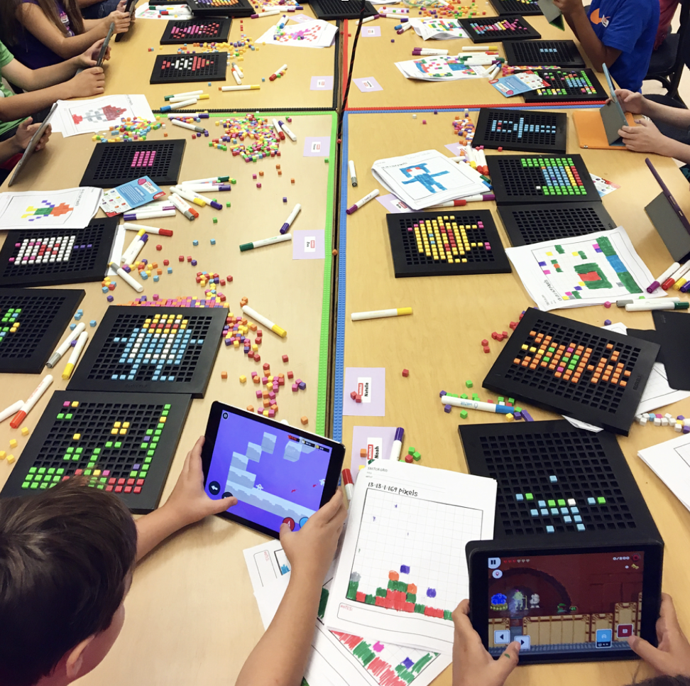 Bloxels in the classroom