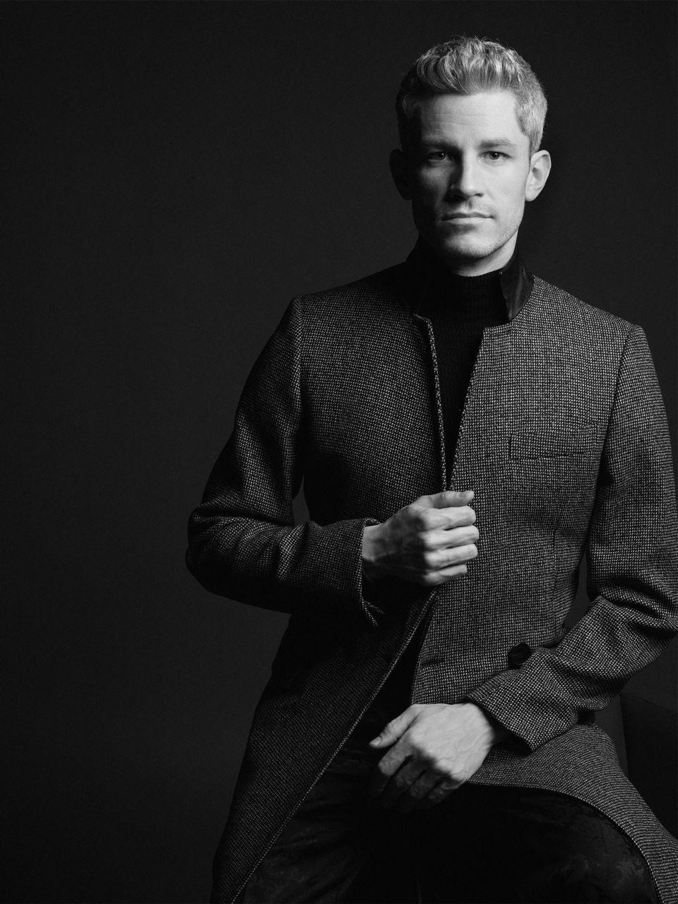 Portrait by Karl Lagerfeld
