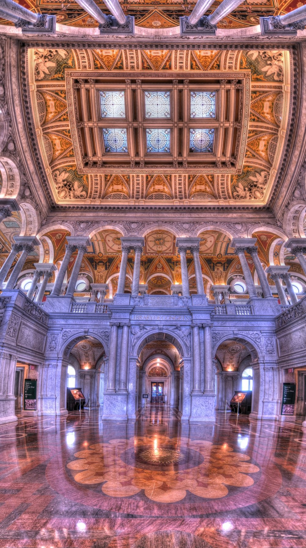 Great Hall of the Library of Congress. Credit: Brandon Kopp.