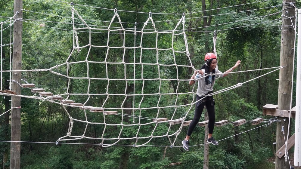 Adventure Education - Getting to the guts of better living by breaking with routine. Ropes courses, back-country expeditions, retreats, staff trainings, and choose-your-own-adventure style keynote presentations and workshops.