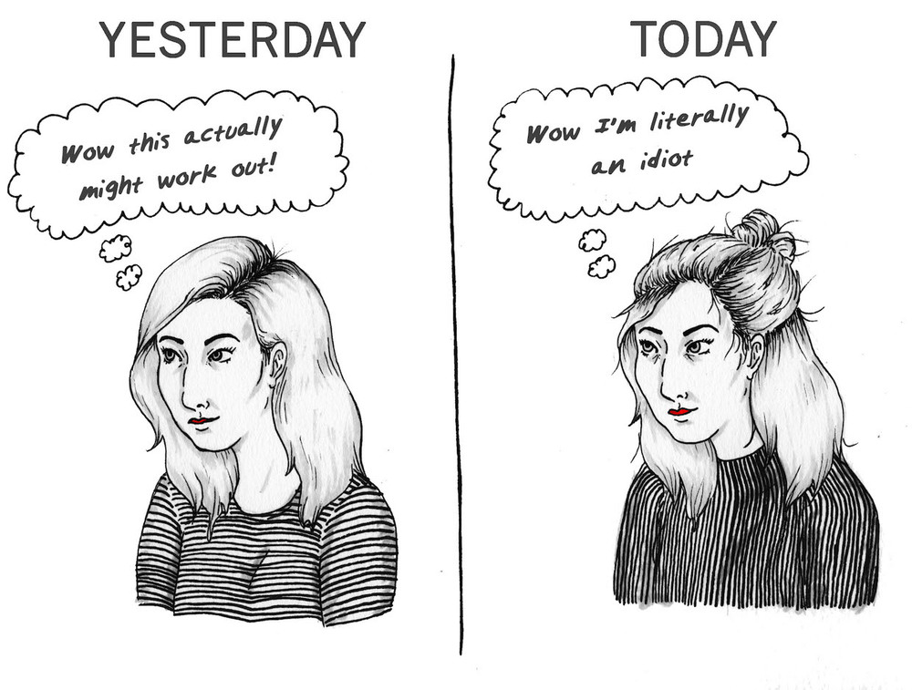 YESTERDAY / TODAY