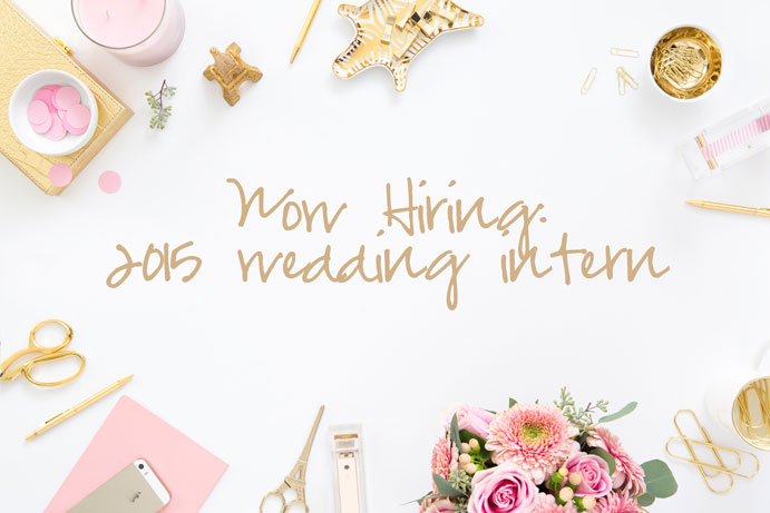 Greenwich Wedding Planning Intern