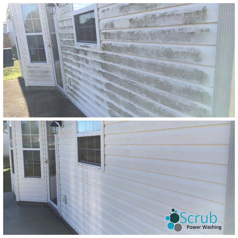 Exterior Soft Wash - Remove Mold and Mildew Without Damaging Siding