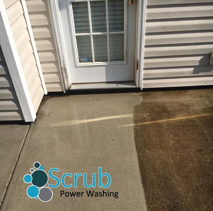Concrete Surface Cleaning - Driveways, Walkways, Sidewalks, Patios, Etc. Look New Again!