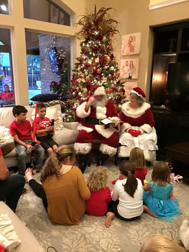 Events — Santa Jerry & Christmas Carol