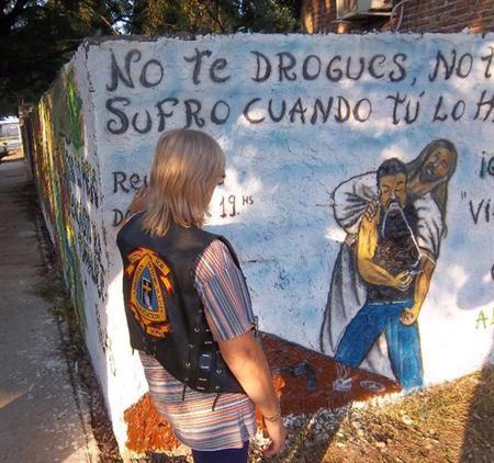 CALVARY mural found in Argentina