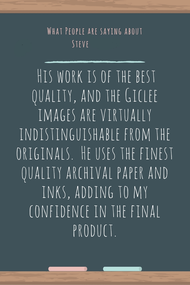 What is giclee?