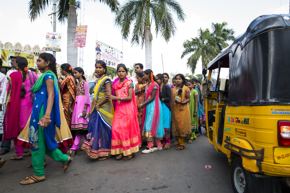 Hyderabad, India with Travel Channel's Andrew Zimmern