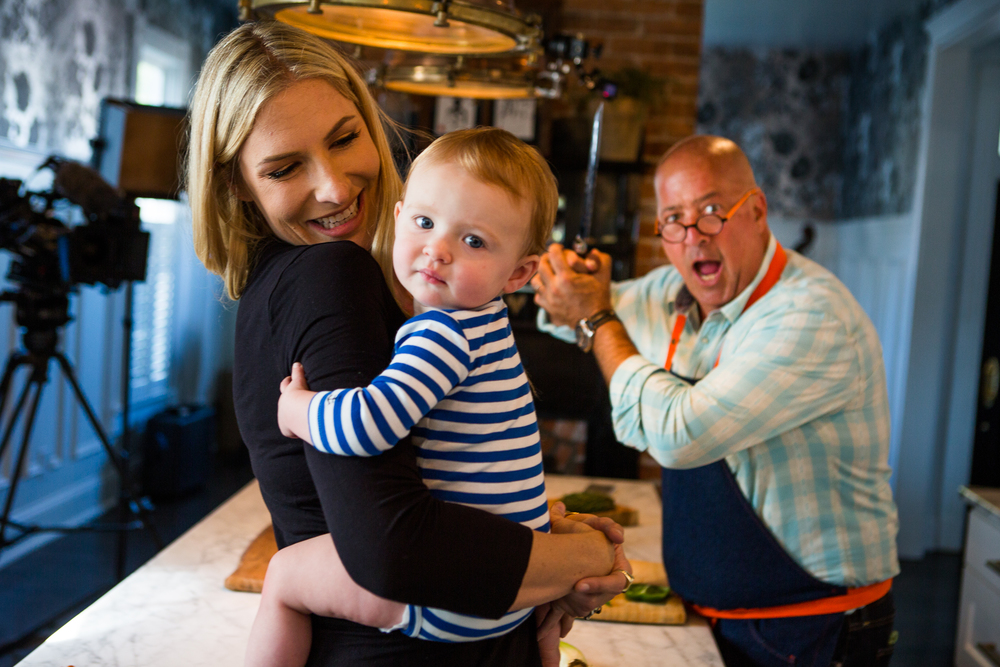 Holly Williams & Andrew Zimmern