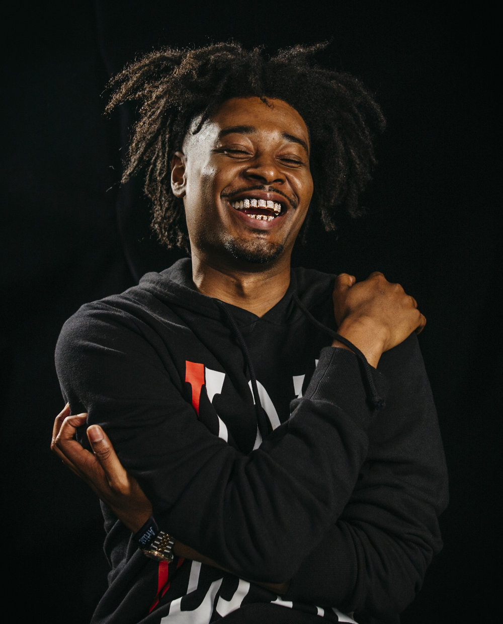 Danny Brown by Cambria Harkey Lollapalooza 25