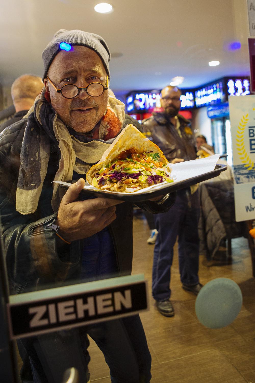 Chef Andrew Zimmern in Berlin