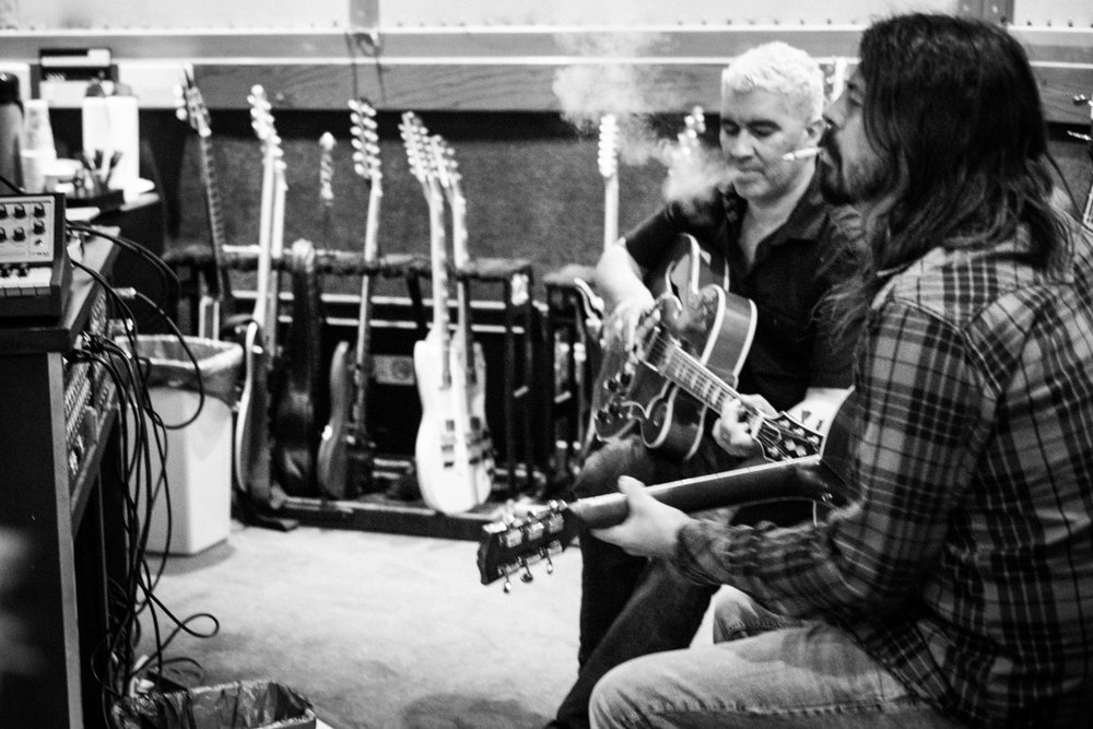 Dave Grohl & Pat Smear