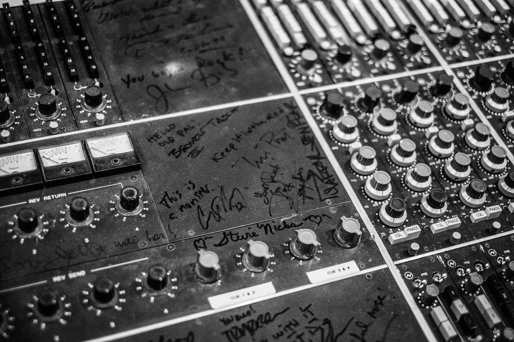 Foo Fighter's LA Studio