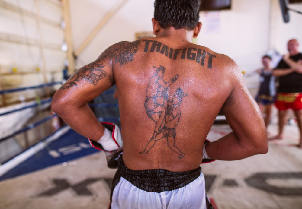 MUAY THAI FIGHTING, BANGKOK - w/Travel Channel's Andrew Zimmern