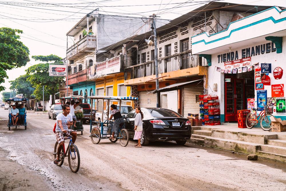 Tapachula, Mexico and Guatemala border