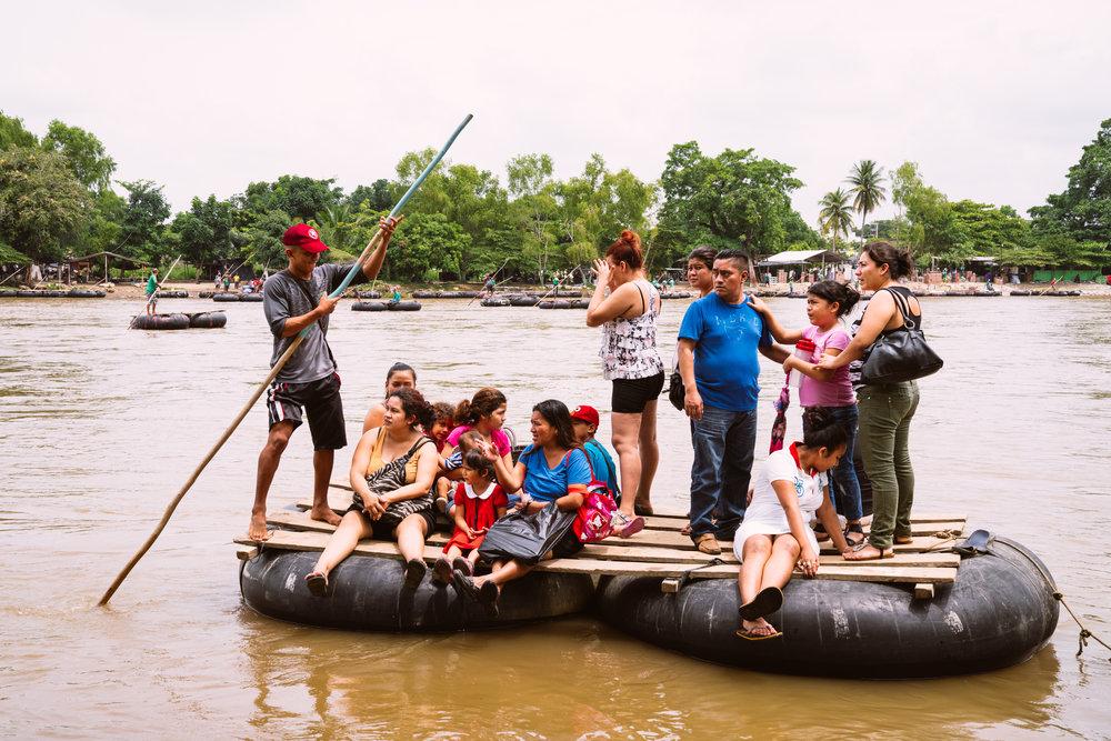 MEXICO/GUATEMALA BORDER - Immigration