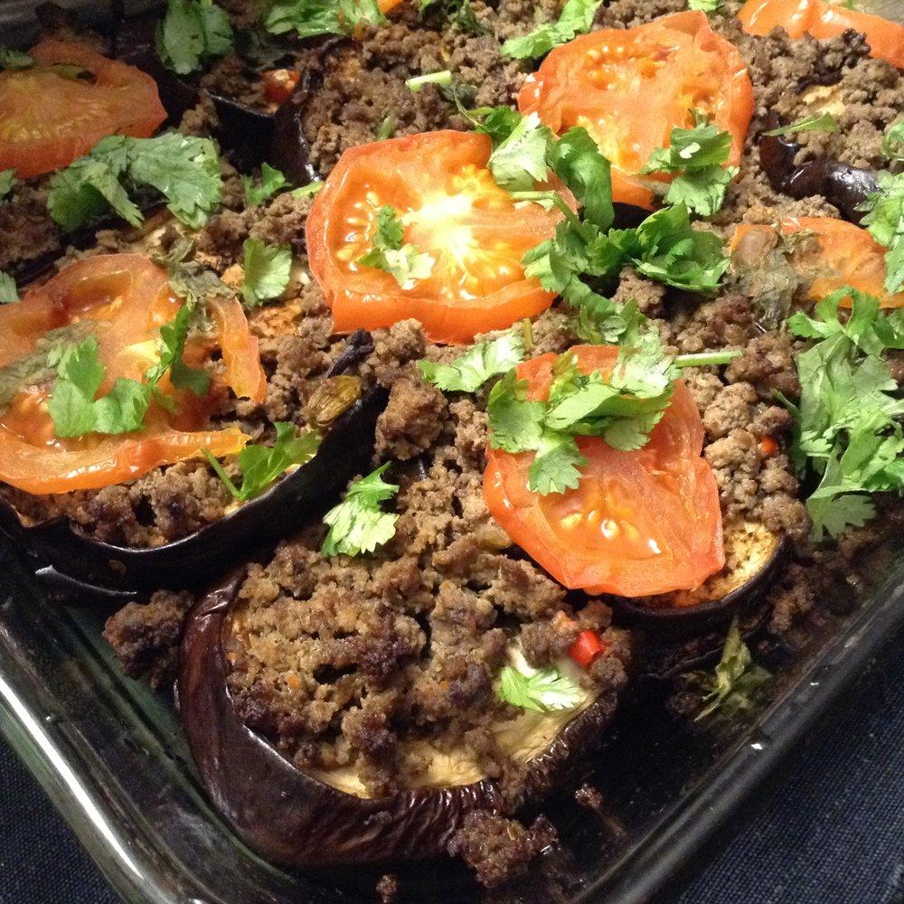 Turkey Eggplant Casserole