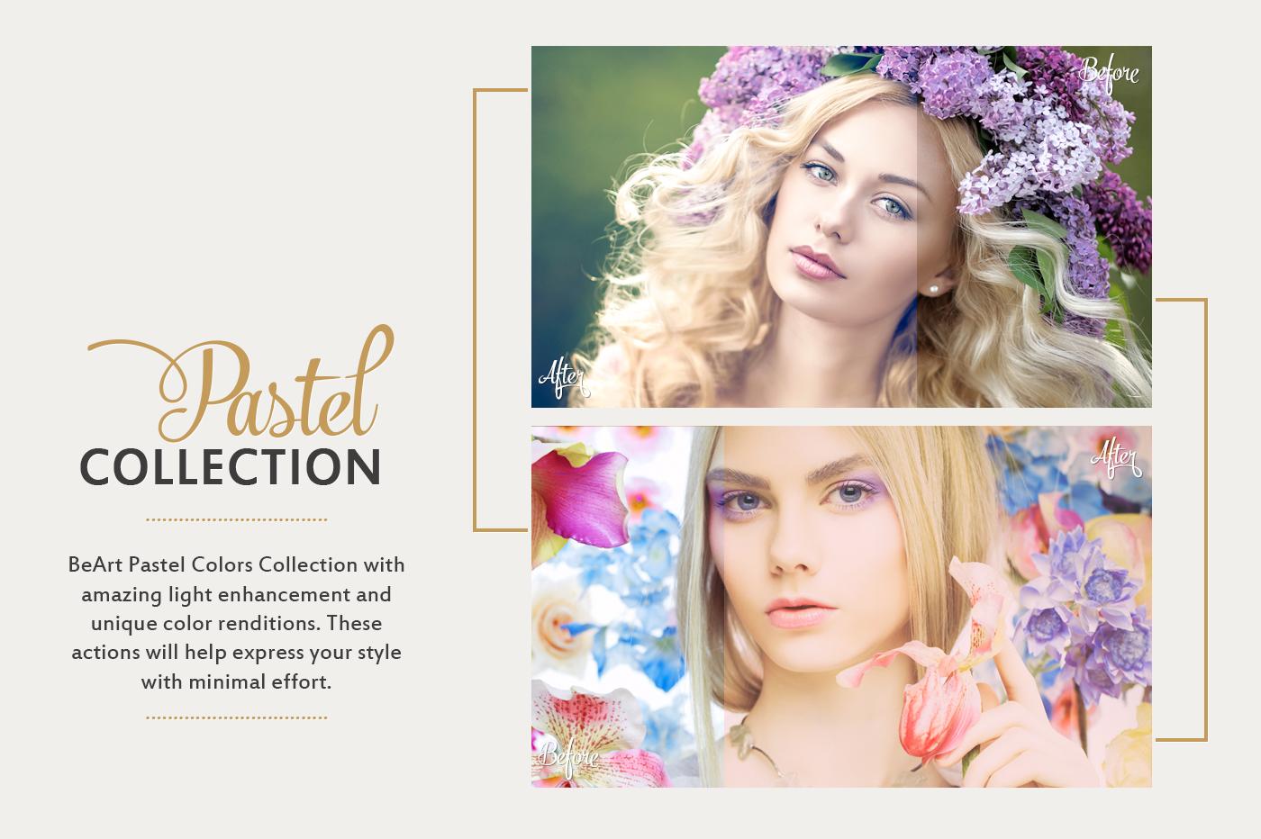 Soft Pastel Effect Lightroom presets