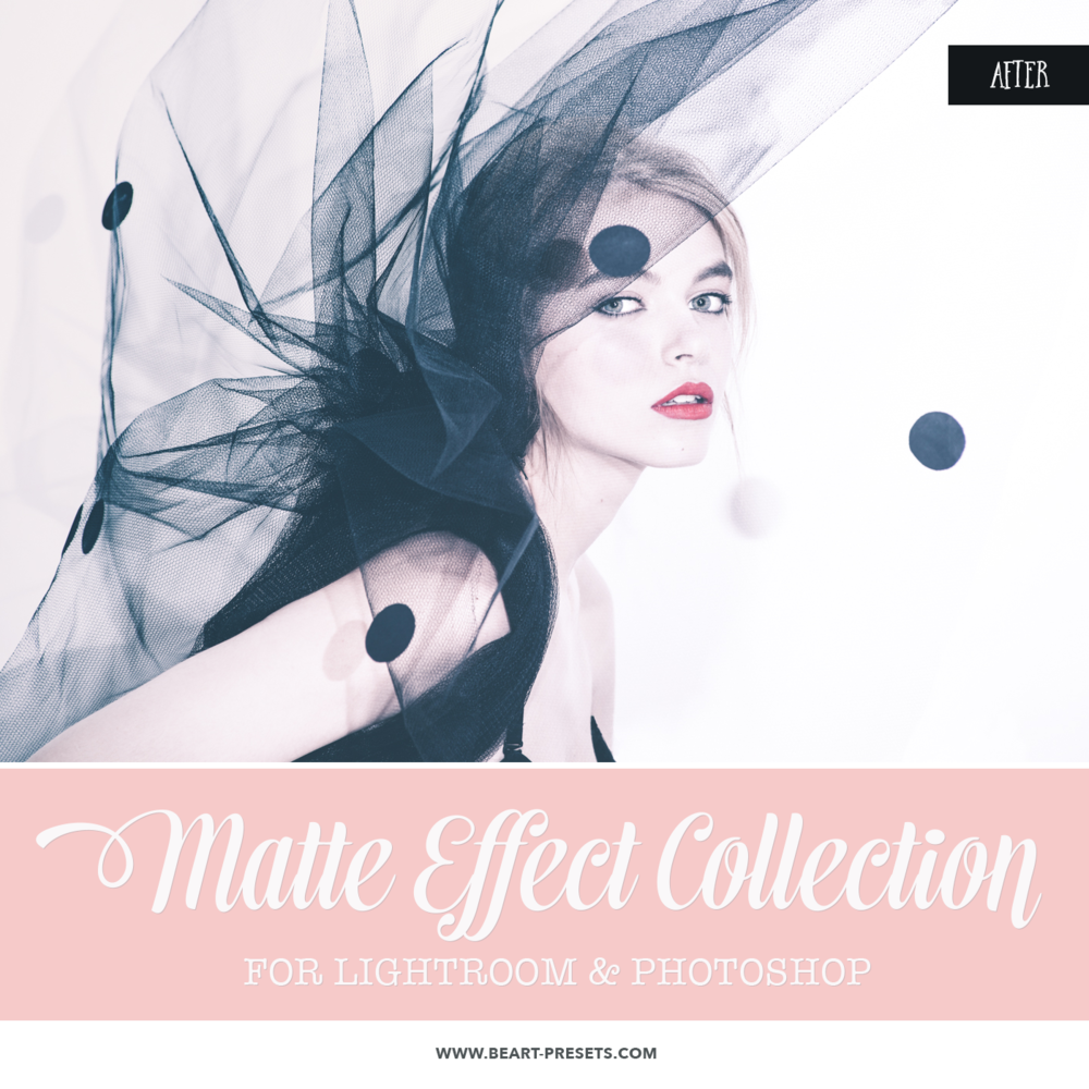 Matte look Photoshop actions